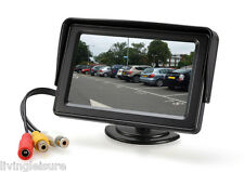 "Monitor for Motorhome Rear View and Reversing Cameras with 4.3"" LCD Screen"