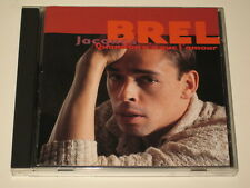 JACQUES BREL - 2 CD SET - QUAND ON N'A QUE L'AMOUR