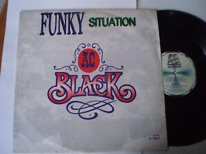 """AC BLACK - 12"""" 45 - """"FUNKY SITUATION"""" - 1989 - OZ MOTOWN PROMO"""