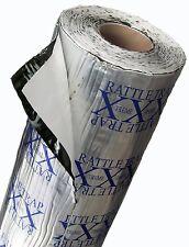 50 sq.ft FATMAT RATTLETRAP Thick Car Sound Deadening Damping+Free Dynamat Roller