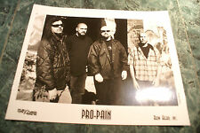 PRO PAIN 8X10 1998 PROMO PICTURE  MINT NEVER USED RARE HTF OOP