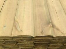 LOGLAP T/&G CLADDING PINE TIMBER 85X22 200 METERS INC DELIVERY TO SHEFFIELD ONLY!