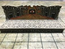 NEW Dwarven Forge Painted Resin Den of Evil 2 x 6 Straight Wall with Gem D&D