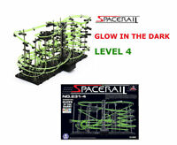 Level 4 26mm Space Rail Perpetual Rollercoaster Marble Run Coaster Glow Toy Uk