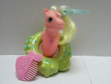 MY LITTLE PONY VINTAGE SEA SPARKLE BABY SEA PONY SEA SPRAY COMPLETE ACCESSORIES