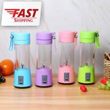 380ml One Portable Personal Blender Juice Mixer Blend USB Rechargeable 6 Blades