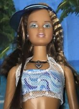 2003 California Girl Teresa doll NRFB Barbie Cali beach bikini crimped hair