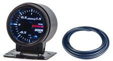 "52mm 2"" Turbo Boost Gauge Bar Digital Sensor /Analogue Display & Black Hose"