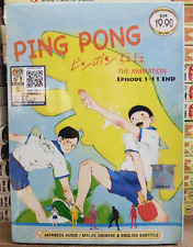 DVD ANIME PING PONG The Animation Vol.1-11 End Eng Subs All Region + FREE DVD