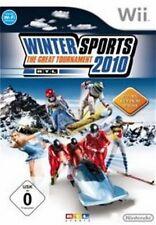 Nintendo Wii Wii-U RTL WINTER SPORTS 2010 SPORT * DEUTSCH Top Zustand