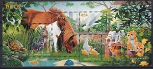 Australia 1996 Farm Animals, Pets, MNH sheet