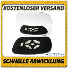 Spiegelglas für VW TOUAREG 2002-2006 rechts Beifahrerseite beheizbar konvex
