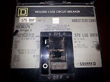 Square D molded case circuit breaker KH36175 175 AMP