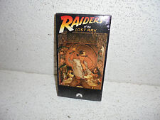Raiders of the Lost Ark VHS Video Brand New SEALED