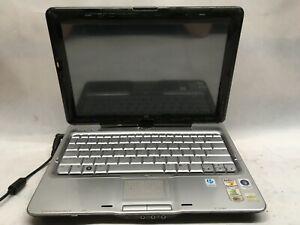 "HP Pavilion tx2000 12"" Laptop AMD Turion 64 x2 NO RAM -CHARGES, NO POWER UP - JJ"