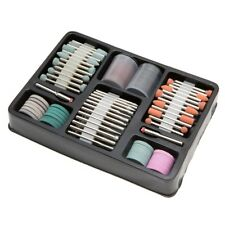 134Pc Rotary Tool Dremel Accessory Set Kit Sanding Polishing Cutting 1/8