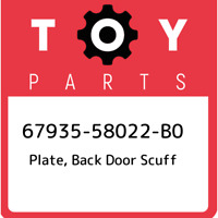 Toyota 67935-47010-C0 Door Plate