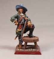 Painted Tin Toy Soldier Pirate #1 54mm 1/32