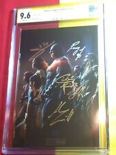 Justice League Of America #10 CGC 9.6 6x Sign By Gal Gadot,SDCC, Batman Superman