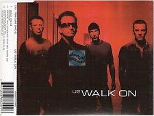 U2 walk on CD MAXI red