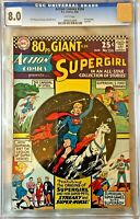 Supergirl =Action Comics= #334 CGC 8.0 Origin story silver age comic