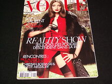 VOGUE PARIS Magazine<>AUGUST 2008 No. 889<>REALITY SHOW  °  DARIA WERBOWY