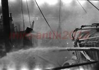 Foto-Negativ, Hafen von Brest, engl. Fliegerangriff im Aprill 1941, 5026-804/10