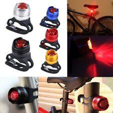 2x LED Fahrrad Rücklicht Lampe Fahrradlicht Wasserdicht Rückleuchte Sicherheit