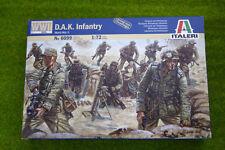 Infantería alemana D.A.K la segunda guerra mundial 1/72 Escala Italeri 6099