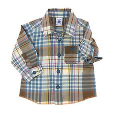 Petit Bateau chemise garçon 6 mois