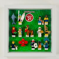 Minifigure Display Case Frame  Lego Team GB Olympics 8909 minifigs figures