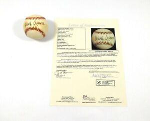 Hank Aaron Signed OMLB Baseball JSA Auto DA045214