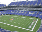 Baltimore Ravens vs Chargers 4 UL SEC 548 R 26 !!