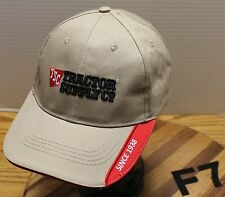 TRACTOR SUPPLY COMPANY BEIGE HAT STRAP AND BUCKLE ADJUSTABLE VERY GOOD CONDITION