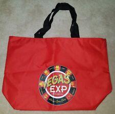 New Vegas Exp Red Reusable Tote Bag Storage Souvenir Travel Always Open Store