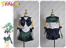 Sailor Moon Sailor Neptune Michiru Kaioh Dress Cosplay Costume Adult Custom Made
