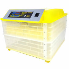 96 Egg Incubator Digital Fully Automatic Mini Egg Hatching Turning Machine New