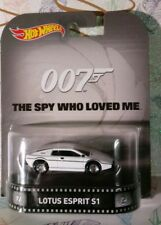 HOT WHEELS 1/64 RETRO JAMES BOND 007 THE SPY WHO LOVED ME LOTUS ESPRIT S1 NEWd