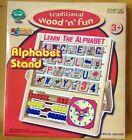 Ackerman Jouet En Bois Alphabet Support Boulier Enfants À Compter Jeux Éducatifs