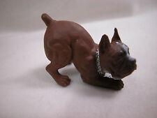 Dollhouse Miniature Animal House Pet Dog Puppy  Bulldog #Z407