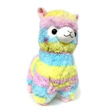 "AMUSE Alpacasso Plush Rainbow Stuffed Animal 18"" (Rainbow Alpaca)"
