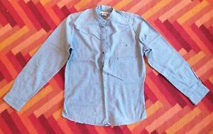 """Richard James smock shirt cotton 16"""" 41cm"""