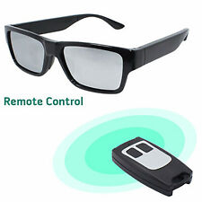 More details for touch remote control spy video glasses invisible lens 1080p hd 16gb dvr recorder