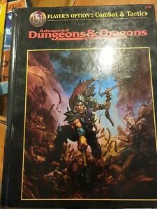 AD&D 2nd Ed Player Option: Combat and Tactics Book