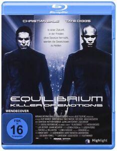 Equilibrium (2002) Blu Ray Import Region B New & Sealed