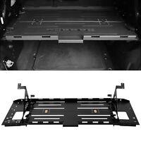 BLK Rear Foldable  Luggage Storage Carrier Rack Steel For 07-18 Jeep Wrangler JK