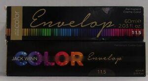 JACK WINN COLOR ENVELOP Nourish Hair & Scalp Permanent Hair Color ~ 2.03 fl. oz.