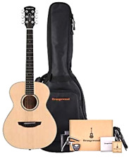 Orangewood 6 String Acoustic Guitar Pack Right Spruce Guitar Gigbag Accessory Pk
