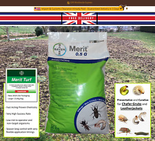 Merit Turf 13.6KG Granules 0.5G Insecticide Cures & Prevents Chafer Grubs
