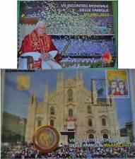 Vaticano 2 euro 2012 numisbrief mundo reunión familiar conmemorativa Commemorative